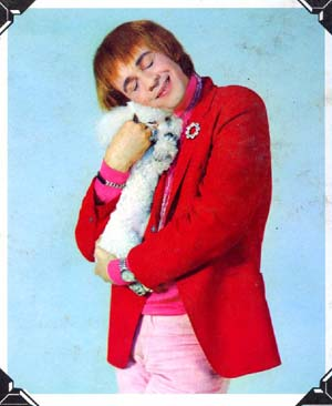 Eduardo Davidson with puppy