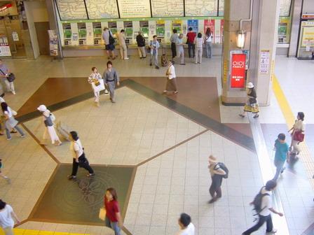 Bahnhof Kokubunji, immer noch