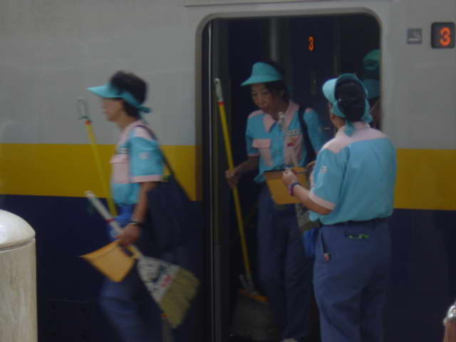 train cleaners