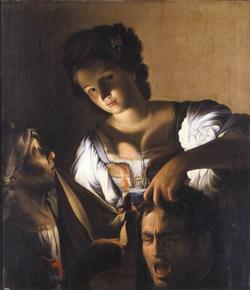Carlo Saraceni, Judith mit dem Haupt des Holofernes, Kunsthistorisches Museum, Wien